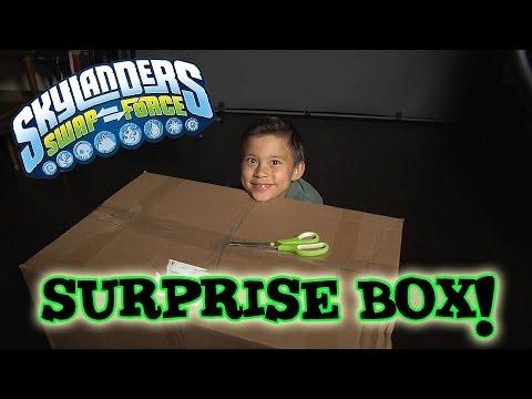 Skylanders SWAP FORCE Surprise Box!
