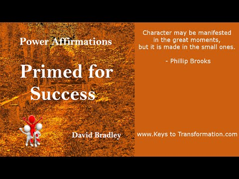 Power Affirmations: Primed for Success
