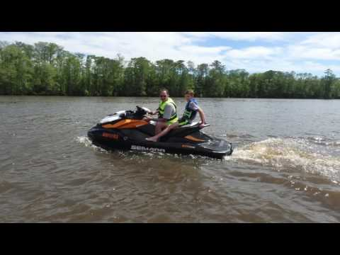 Houston Jetski Riders (HJR) Baton Rouge Test Ride - April 2017