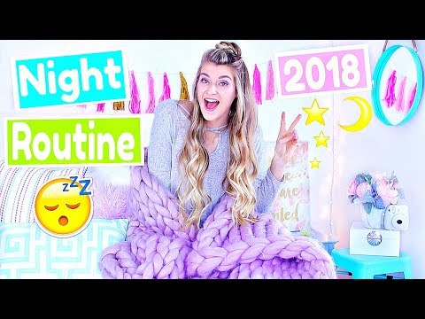 MY NIGHT ROUTINE 2018! Katie Betzing