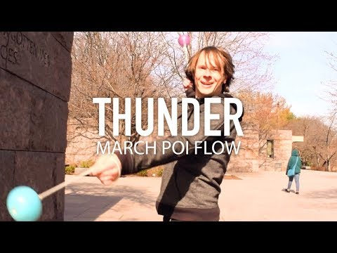 Poi Dancing: IMAGINE DRAGONS - Thunder | Choreography by Drex