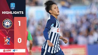 Highlights | Bà Rịa Vũng Tàu – Bình Định | Thắng lợi tối thiểu, 3 điểm tối đa | VPF Media