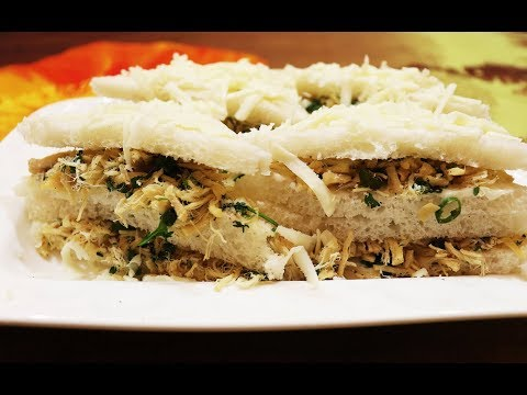 Chicken & Mayonnaise Sandwiches | Shredded Chicken Sandwiches | Ramadan Recipe | Iftar Dish