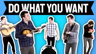 Lady Gaga - Do What You Want (cover By Andy Scalise)