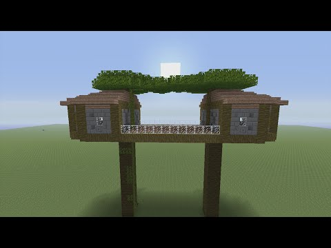 How to Build a Tree House in Minecraft - Part 1