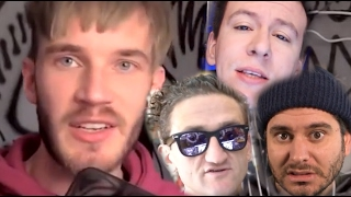 YouTube Stars React To PewDiePie Controversy | What