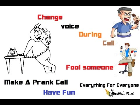 HOW TO CHANGE VOICE MALE TO FEMALE DURING CALL    CALL VOICE CHANGER   