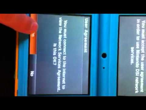 Easy way to unlock internet on dsi
