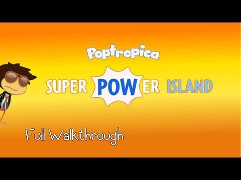 Poptropica: SuperPower Island FULL Walkthrough