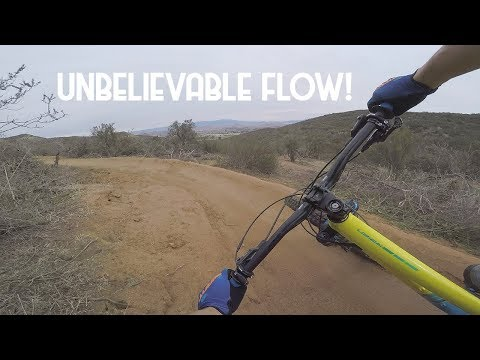 BEST FLOW TRAIL EVER BUILT?! | THE HOTTEST TRAIL TODAY! | OVERDRIVE TRAIL