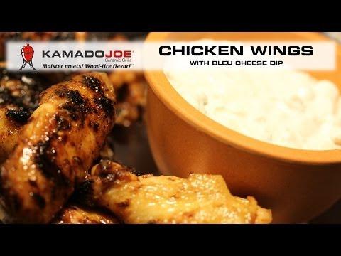 Kamado Joe Chicken Wings