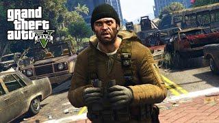 GTA 5 Zombie Apocalypse Mod #1 - BEGINNING OF THE END!! (GTA 5 Mods)
