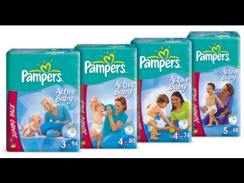 Pampers -  Disposable Nappies