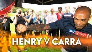 Thierry Henry v Jamie Carragher | The Final Showdown! 👊 🎯
