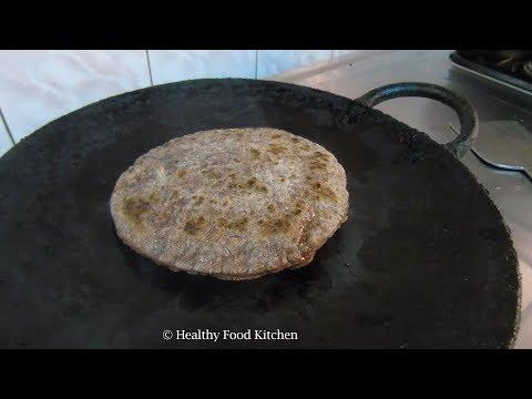 Ragi Chapati - Diabetic Breakfast Recipe - Ragi Paratha Recipe - Finger Millet Paratha - Ragi Phulka
