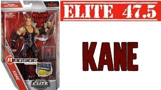 WWE FIGURE INSIDER:  Kane - WWE Elite Series 47.5 WWE Toy Wrestling Action Figure
