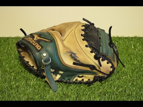 Mizuno Custom Classic Pro Catchers Mitt Relace - Before and After Glove Repair