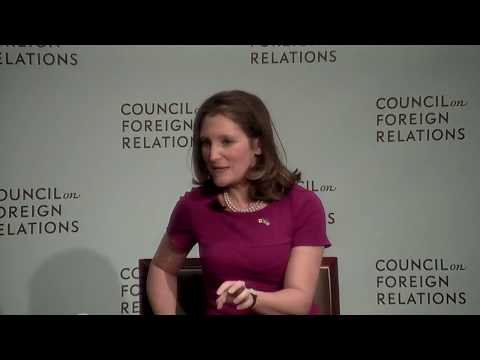 Clip: Freeland and Lew on NAFTA and Middle Class Anxieties
