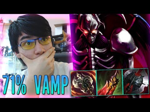 71% VAMP SUSTAIN GOD RAID BOSS KAYN DARKIN FORM [ TOP LANE ]