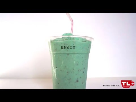 Mint Chocolate Chip -- Blended Smoothie