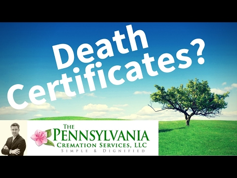 Death Certificates Explained