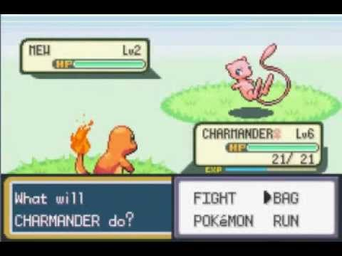 Catch Mew in Pokemon Leaf Green