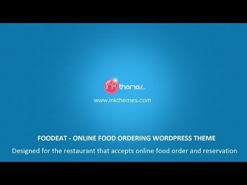 Online Food Ordering WordPress Theme