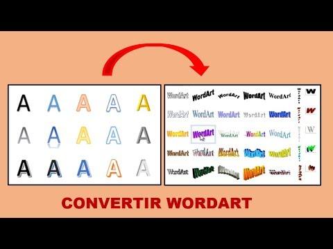 Cómo habilitar WordArt clásico en office word 2010/2013