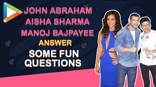 Have REJECTED so many SEQUELS- John Abraham & Manoj Bajpayee REVEAL!!!