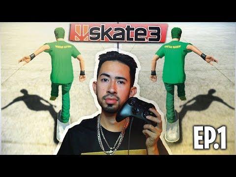 How to Skate 3 (Episode 1) PUSHING CORRECTLY
