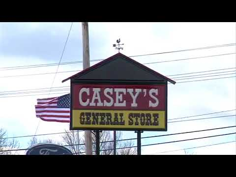 Casey's in Marshall torn down