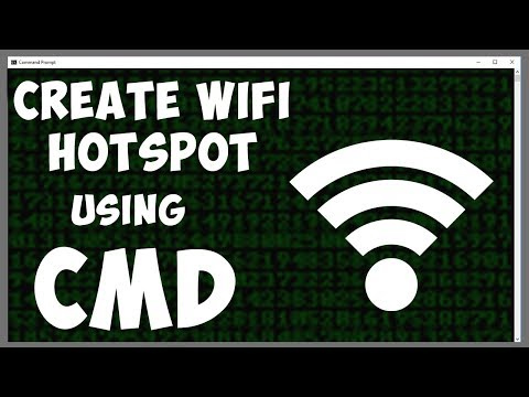 How to Create a WiFi Hotspot Using CMD