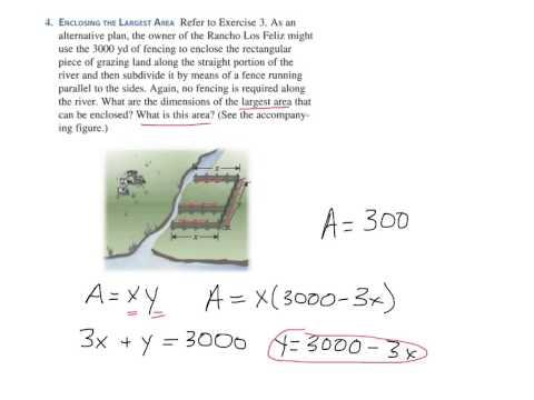 Optimization (p. 327 #4)