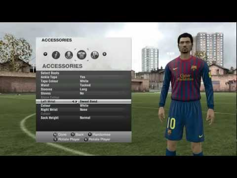 Fifa 12- Creating.. S.Roy the player..Position_ Forward...