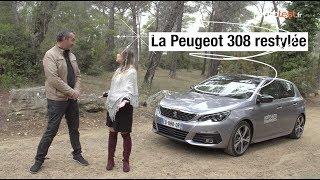 Essai de la nouvelle Peugeot 308 restylée 2018 - finition GT