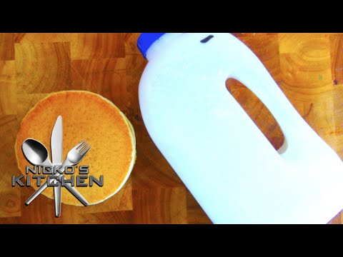 Instant Pancake Mix (Just add water) - Video Recipe
