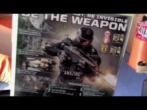 Crysis 2 unboxing Limited Edition