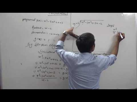 Find Divisor or g(x) When Dividend, Quotient and Remainder are Given in Polynomial (Hindi)
