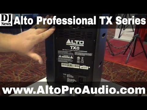 #Alto_Pro TX10 TX8 TX12 TX15 Series Speakers For Mobile DJs | Disc Jockey News