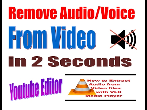 How to Extract Audio from Video using VLC Media Player || Free software to extract audio from video