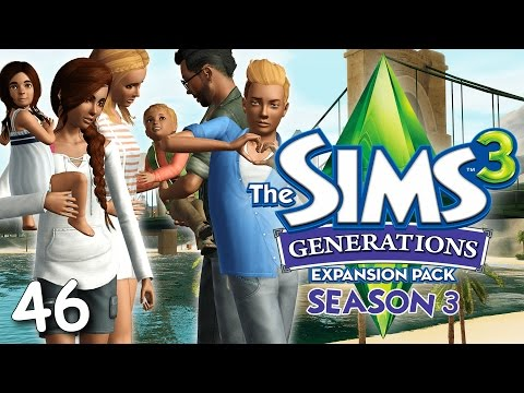 Let's Play: The Sims 3 Generations (S3) - Part 46 - Learning To Walk!
