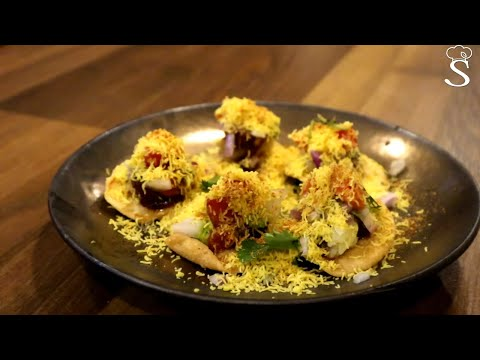Sev Puri | Popular Mumbai Street Food Chaat | Easy and Quick Snack for Kids by Shree's Recipes