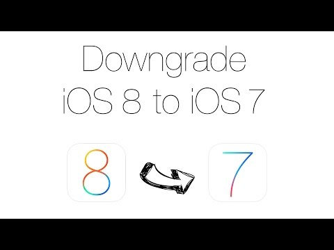 Downgrade iOS 8 to iOS 7.1.2 NO SHSH [iPhone 5S/5C/5/4S/iPad Air/4/3/2/1/Mini/iPod 5]