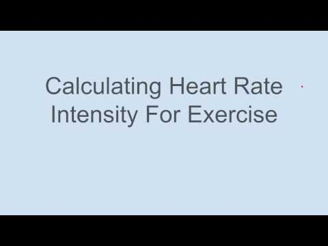 How to Calculate Heart Rate Intensity.