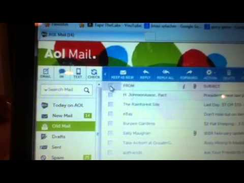 How to Delete AOL emails