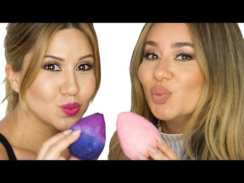 How To Make a Makeup Beauty Blender - EASY DIY!