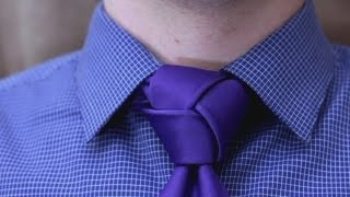 How To Tie A Tie Trinity Knot Made Simple