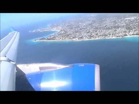 Thomas Cook Airbus A330-243 Landing Barbados | 12/02/12