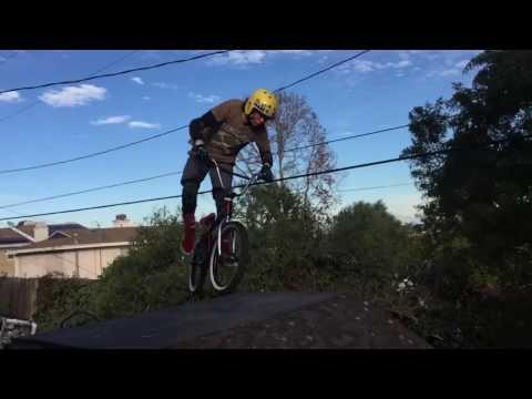 Sketchy ramp BACKFLIP! BMX