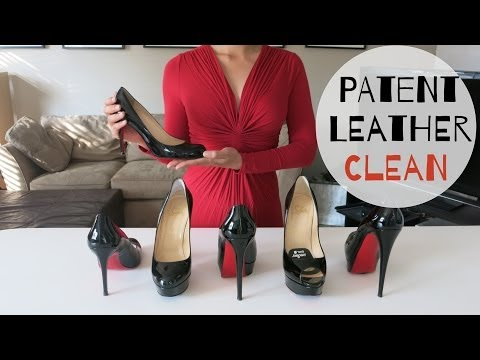How to: Clean, Care, and Remove Scuff on Patent Leather Shoes